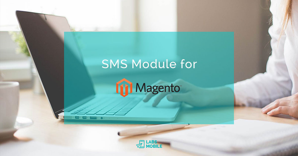 Article Modulo SMS for MAGENTO