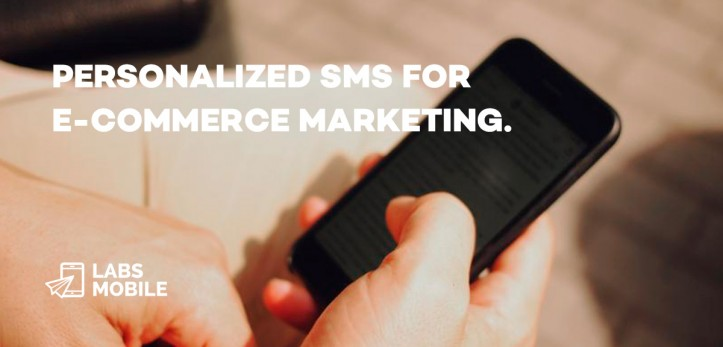Personalized SMS for e commerce marketing