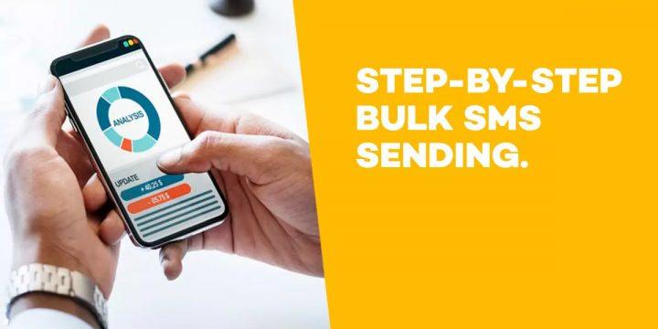Step by step bulk SMS sending
