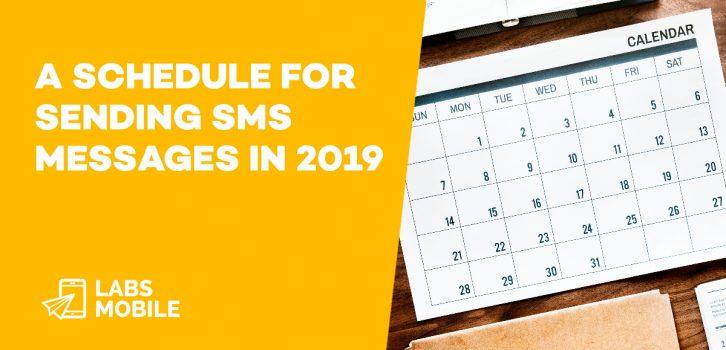 Schedule sms 2019 1