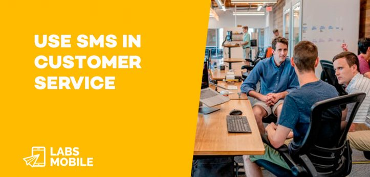 use sms in customer service