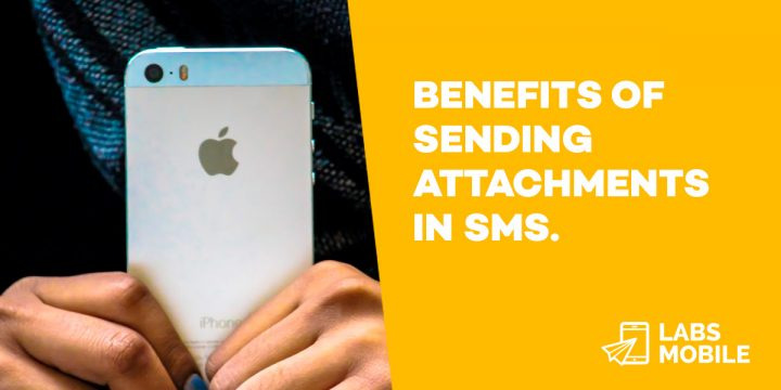 Benefits of sending attachments in SMS.