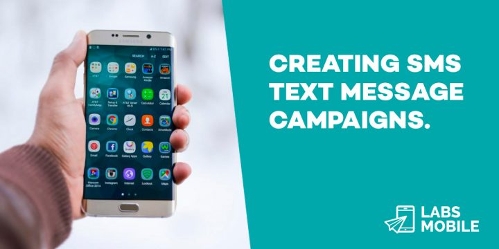 Creating SMS text message campaigns