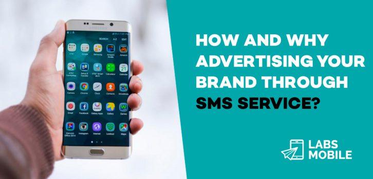 Brand sms service