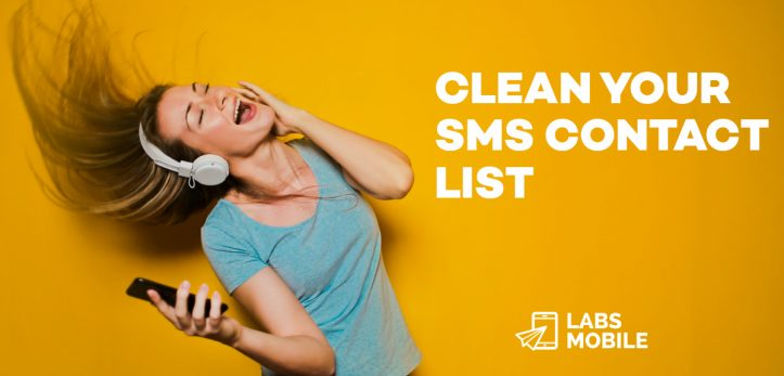 Clean your sms contact list