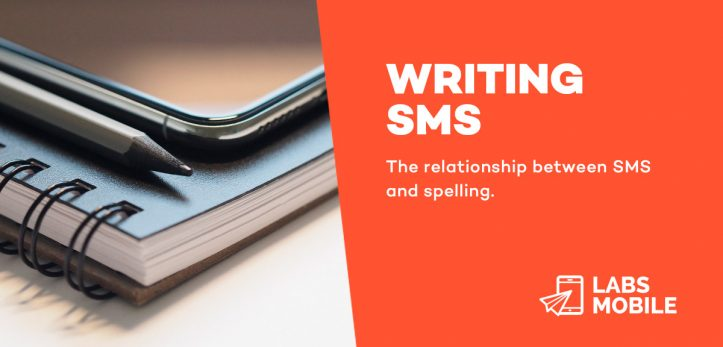writing sms. Spelling
