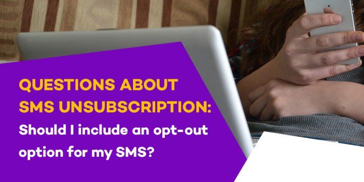sms unsubscription