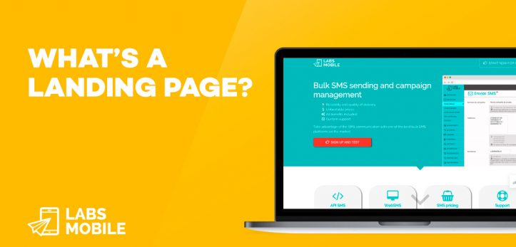 What's a Landing Page