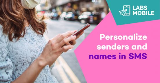 Personalize sms
