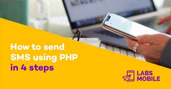 How to send SMS using PHP in 4 steps