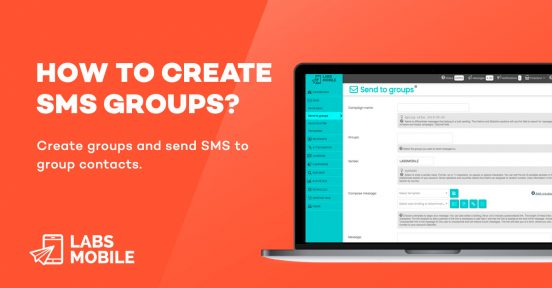 how to create sms groups