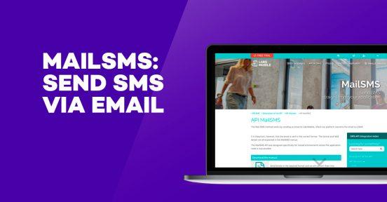 Mailsms send via email