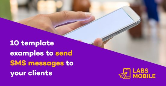 10 template examples to send SMS messages