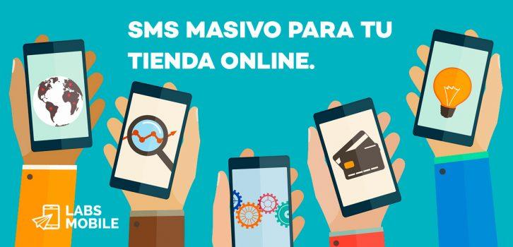 SMS Masivo Tienda Online