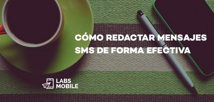 Cómo Redactar SMS deforma efectiva