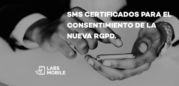 SMS Certificados para RGPD