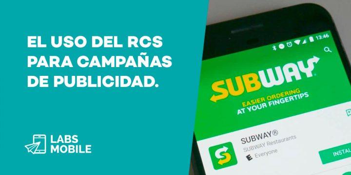 SMS RCS Subway