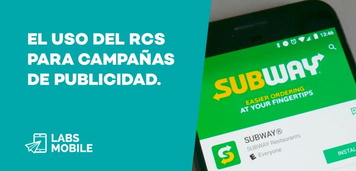 SMS RCS Subway
