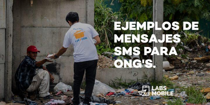 mensajes SMS para ayuda