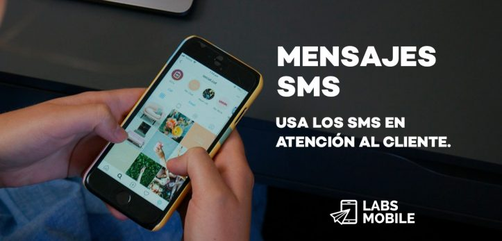 Mensajes SMS Atención cliente