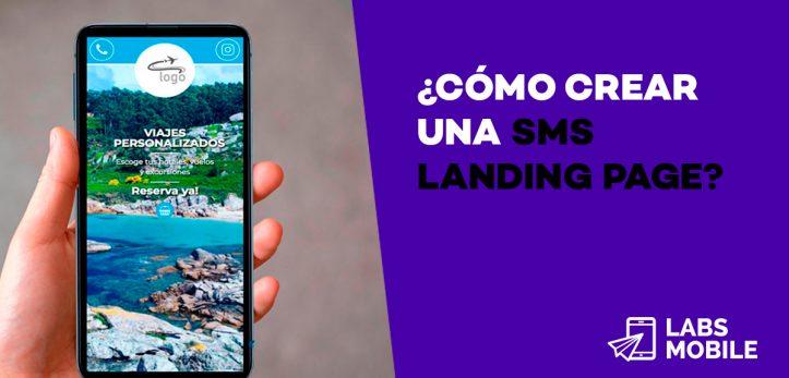 SMS Landing editor ok