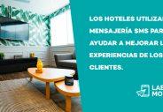 los hoteles y los SMS