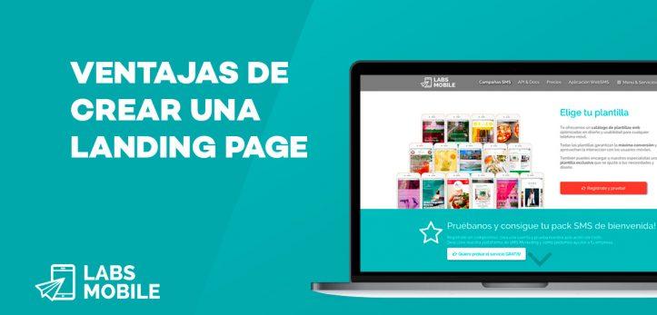 ventajas de crear una Landing page