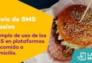 envio sms masivo plataformas comida domicilio